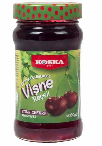 Варенье традиционное из вишни, Koska, 380 г