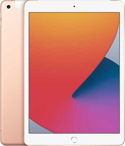 Apple iPad 2020 128GB Wi-Fi + Cellular Gold