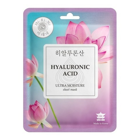 Mi-Ri-Ne Тканевая маска для лица Ультраувлажняющая Hyaluronic Acid 23г