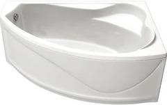 Ванна акриловая Bas Николь 170х102х63, угловая асимметричная (правая), с каркасом
