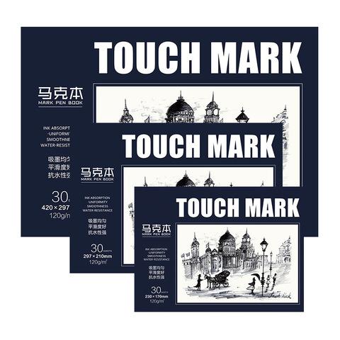 Скетчбук для маркеров Touch Mark, 30 л.