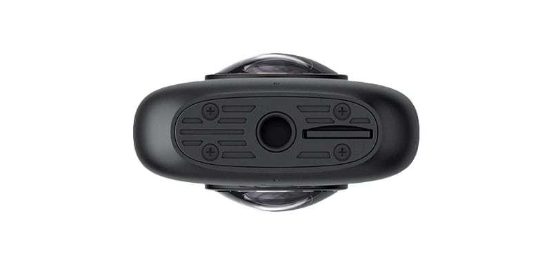 Камера панорамная Insta360 ONE X вид снизу