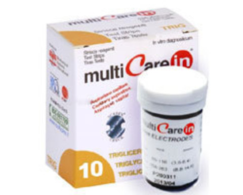 Тест-полоски Мультикэа ин (Multicare-in) Триглицериды №10
