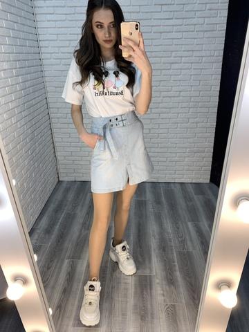 женские джинсовые юбки