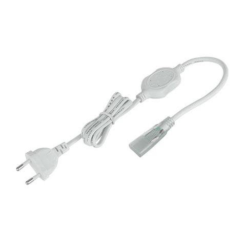Сетевой шнур для светодиодной ленты 220V 5050 IP20 SSH-7