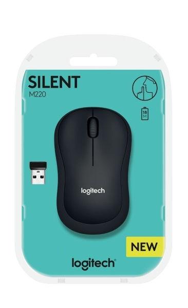Logitech M220 Silent Black