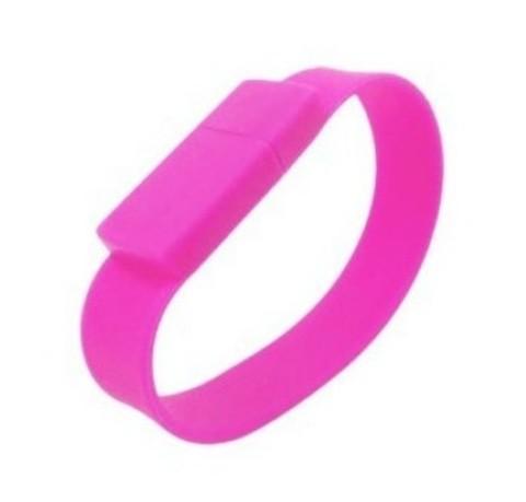 Силиконовая флешка - розовая 1 gb