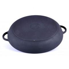 Сковорода-жаровня чугунная 280х60 мм с ручками Ситон