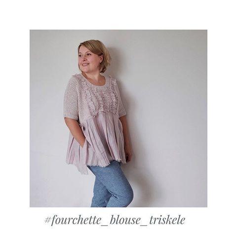 Описание FOURCHETTE Blouse Triskele