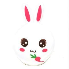 детский силиконовый светильник ночник заяц с морковкой картинка