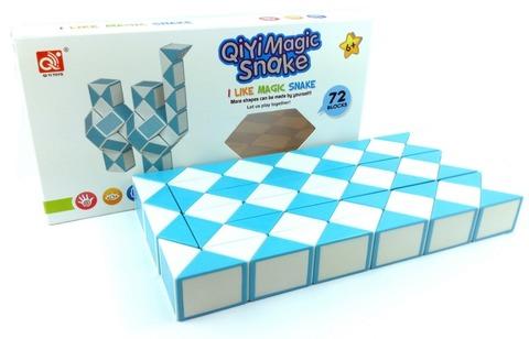 QiYi Twisty 72 Snake - Змейка Рубика на 72 элемента