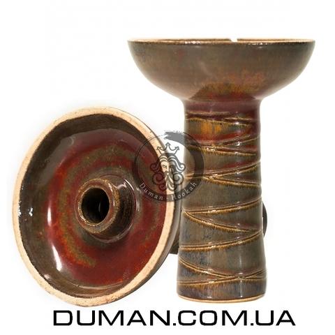 Чаша Gusto Bowls Classic Phunell Glaze II (Густо Болс Фаннел) Красный с зеленым