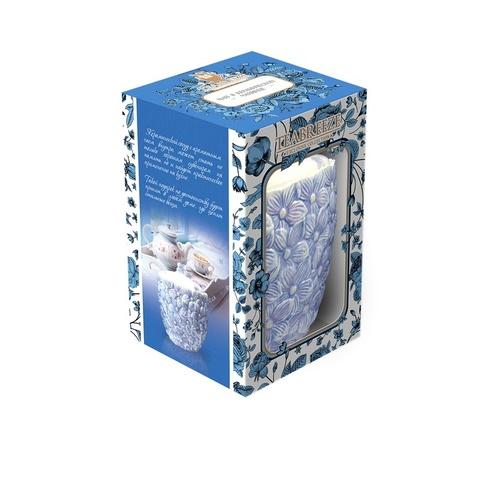 Подарочная керамическая чайница Орхидеи (чай