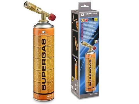 Лампа паяльная газовая  KEMPER 1047SC  + баллон Арт.575