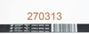 Ремень 1942 H8 Hutchinson для стиральной машины Gorenje (Горенье) 1890 мм - 270313, 160165