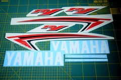 Набор наклеек на YAMAHA YZF R1 2009