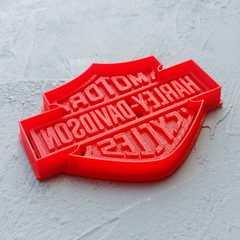 Harley-Davidson лого форма для пряника