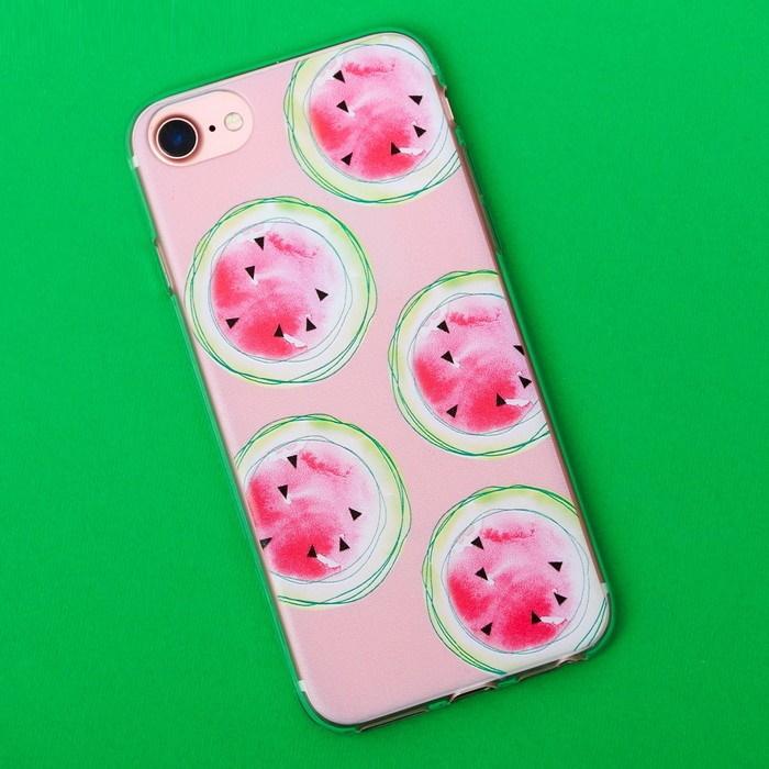 Чехол для телефона iPhone 7 с рельефным нанесением Summer фото