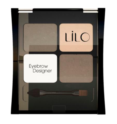 LiLo Набор для моделирования бровей тон 1001 LiLo Eyebrow Designer