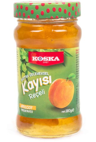 Варенье традиционное из абрикоса, Koska, 380 г