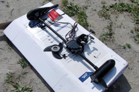 Электро лодочный мотор WaterSnake FWT44TH / 36