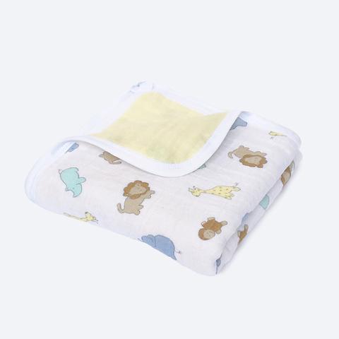 Муслиновое одеяло Mjölk Зверята