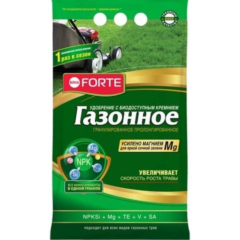 Bona Forte удобрение газонное с кремнием 5кг