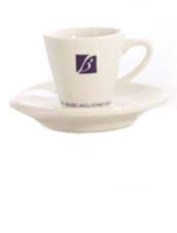 Кофейная пара для эспрессо 70 мл. с логотипом Buscaglione