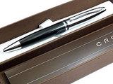 Шариковая ручка Cross Calais черный/серебристый Mblack (AT0112-2)