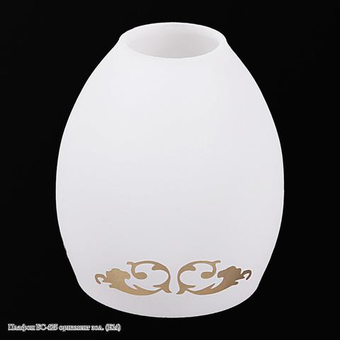 Плафон БС-425 орнамент зол. (E14)