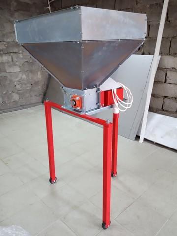 Вальцовая дробилка для солода (700 кг в час)
