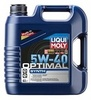 3926 LiquiMoly НС-синт.мот.масло  Optimal Synth 5W-40 SN/CF;A3/B4(4л)