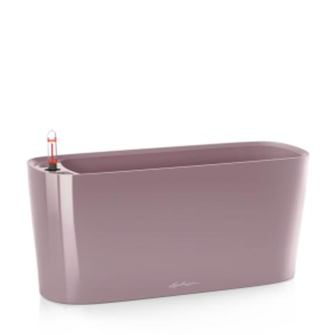 15572 Кашпо LECHUZA Дельта 20 Фиолетовое-пастельное с системой полива