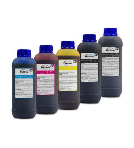 Комплект водорастворимых чернил Optima для Epson 5x1000 мл