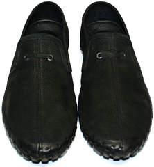 Черные мокасины мужские Roadman S-200 Black