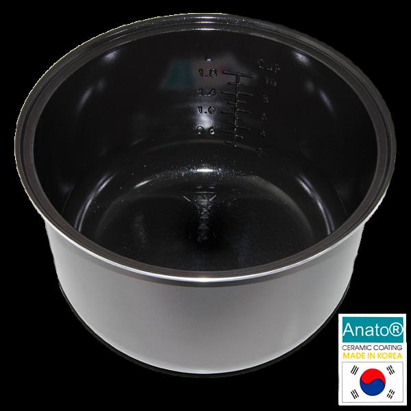 Керамическая чаша с корейским покрытием Anato Redmond RIP-C2 5 литров