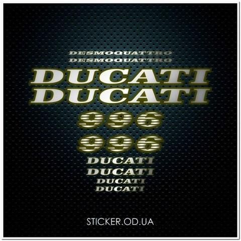 Набор наклеек DUCATI 996