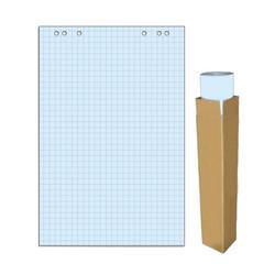 Бумага для флипчартов Attache Selection 68х98 см голубая 20 листов в клетку (80 г/кв.м)