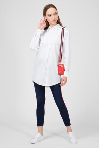 Женская белая рубашка ICON TEDDY Tommy Hilfiger