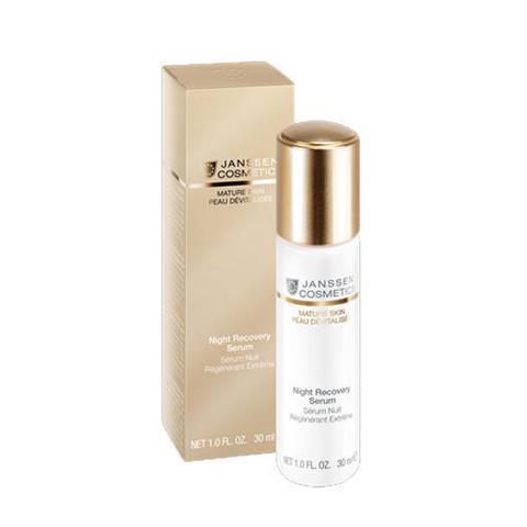 Ночная восстанавливающая сыворотка Night Recovery Serum, Mature Skin, Janssen Cosmetics, 30 мл