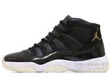 Кроссовки Мужские Nike Air Jordan XI Retro Black White