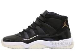 Кроссовки Мужские Nike Air Jordan XI Retro Black White
