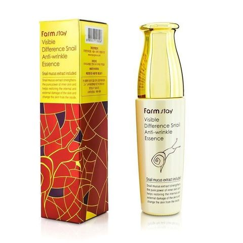 FarmStay VISIBLE DIFFERENCE SNAIL ANTI-WRINKLE ESSENCE  Сыворотка