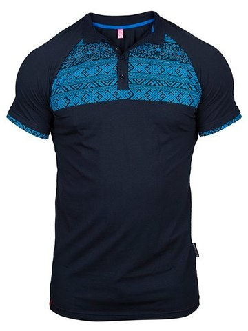 Dark-blue polo shirt