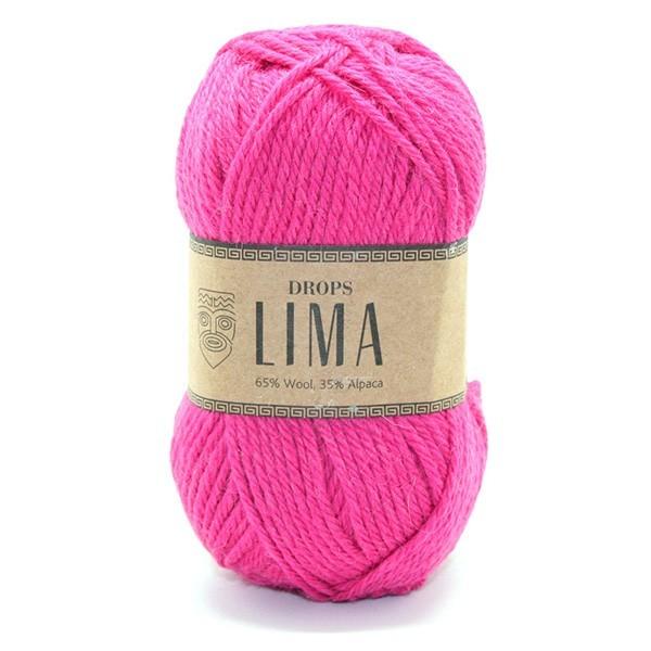 Пряжа Drops Lima 6273 фуксия