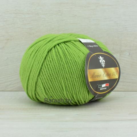 Пряжа Merino Extra 145 (Мерино экстра 145) Светло-зеленый