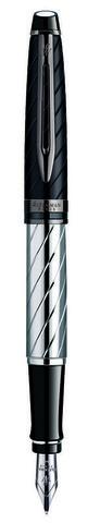 Перьевая ручка Waterman Expert 3 Precious CT, цвет: Black, перо: F