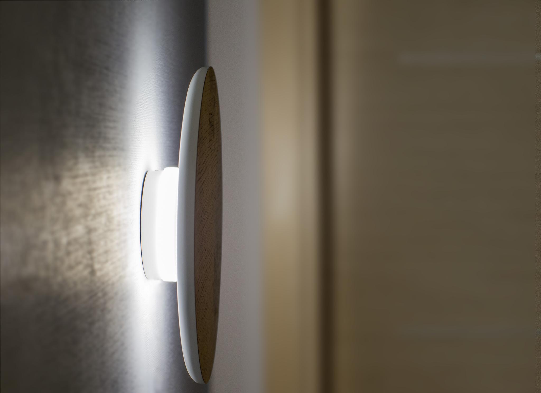 Настенный светильник Woodled Круг