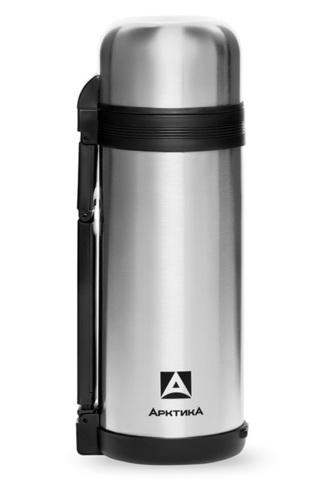 Термос универсальный для еды и напитков Арктика 1,8 л с широким горлом, стальной