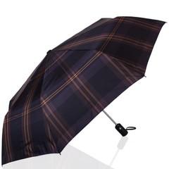 Зонт мужской в клетку ТРИ СЛОНА 907-3